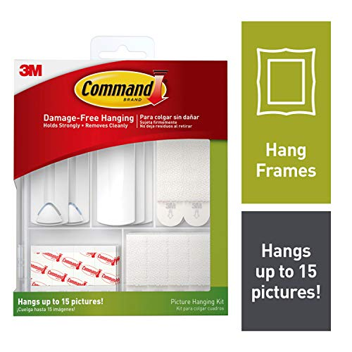 Command Picture Hanging Kit, Decorate Damage-Free (17213-ES)