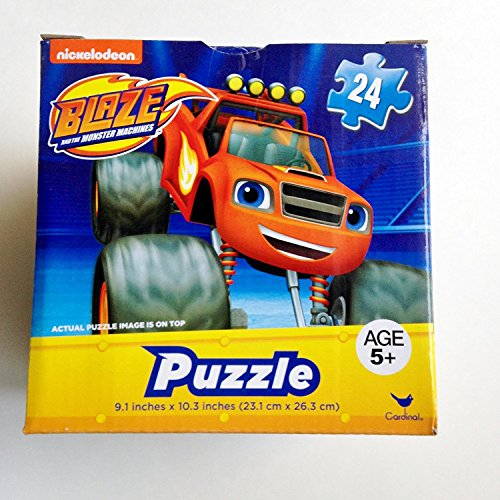 kids-boys-hot-seller-nickelodeon-blaze-and-the-monster-machines-piece-jigsaw-puzzle-in-24-a-square-b