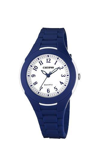 Calypso Watches Reloj Analógico para Mujer de Cuarzo con Correa en Caucho K5700_5