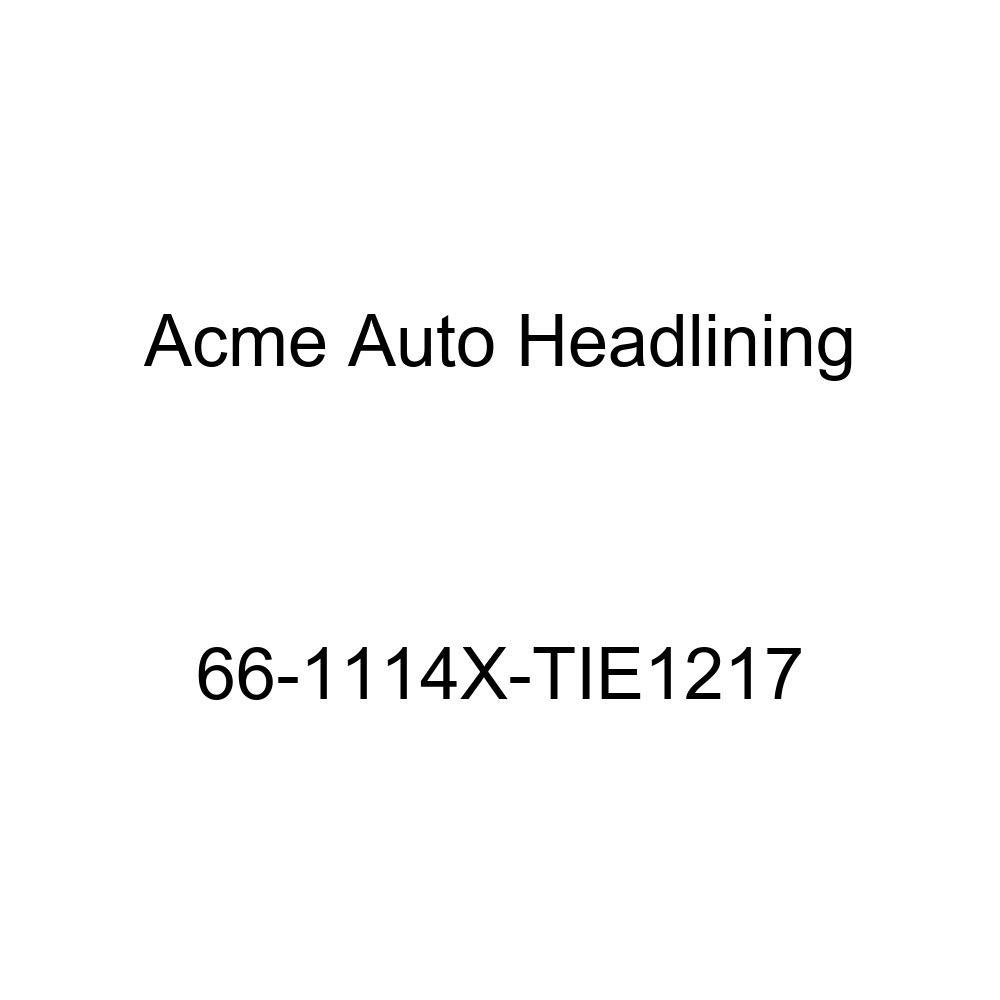 Acme Auto Headlining 66-1114X-TIE1217 Ginger Replacement Headliner Conversion Buick Wildcat 4 Dr Hardtop w//Original Board Headliner