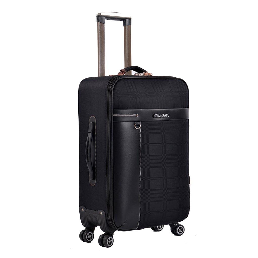 スーツケース トロリーケース4輪出張旅行外出トロリーバッグ大容量ライトトラベルバッグトラベルバッグドラッグバッグハンドバッグトランク旅客ボックスバックパック (色 : D, サイズ さいず : 20INCHES) 20INCHES D B07FSCT6MP