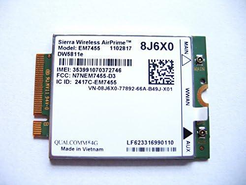 Sierra EM7455//DW5811e 4G LTE M.2 Mobile Broadband PN:3P10Y WWAN Card