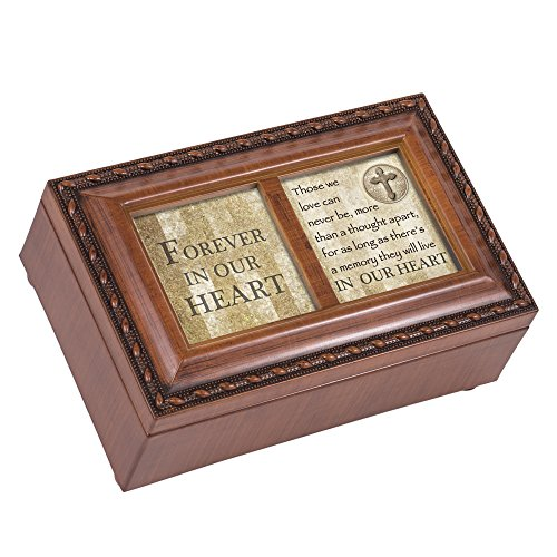 Cottage Garden Bereavement In Memory Forever In Our Heart Sympathy Music Musical Jewelry Box How Great Thou Art