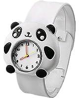 Cute Animal Panda Kids Toddler Slip On Watches Packed in Gift Box