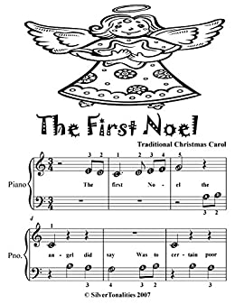 The First Noel Beginner Piano Sheet Music Tadpole Edition Kindle