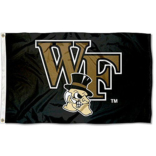 Wake Forest University Flag Large 3x5