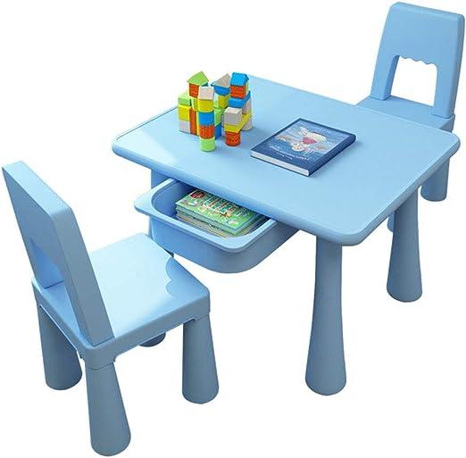 juego de mesa y silla para niños, combinación de Mesa y Silla de ...