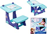 Disney Frozen Elsa Anna Olaf Sit and Play Large Girls Creative / Colouring Art Desk Crayons  sc 1 st  Amazon UK & Born To Play - Thomas u0026 Friends - T1 Thomas Desk And Stool: Amazon ... islam-shia.org