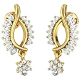 Candere By Kalyan Jewellers 22KT Yellow Gold Drop Earrings for Women