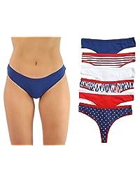 Just Intimates Cotton Panties Underwear (Pack of 6)