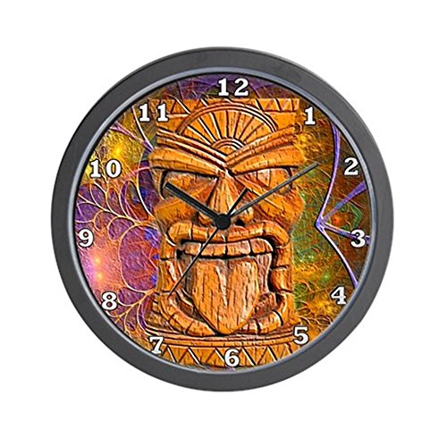 CafePress Tiki Clock Unique Decorative