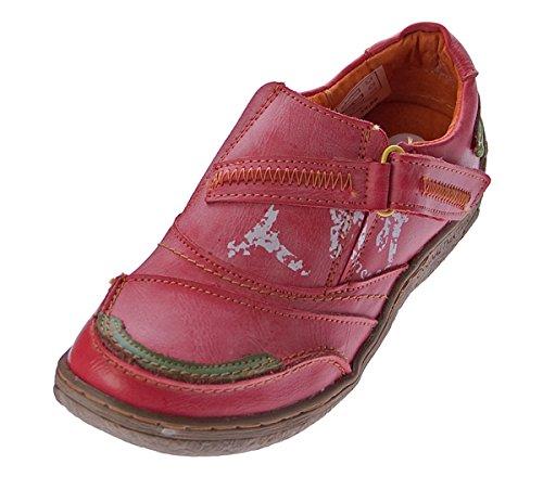 De Rouge Confort 36 Pantoufle En Femmes Tma Chaussures Cuir 42 Baskets Espadrilles Basses 1364 nIBWHq