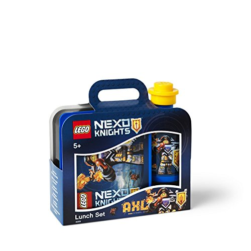 - LEGO 40591736 Nexo Knight Lunch Set, Blue