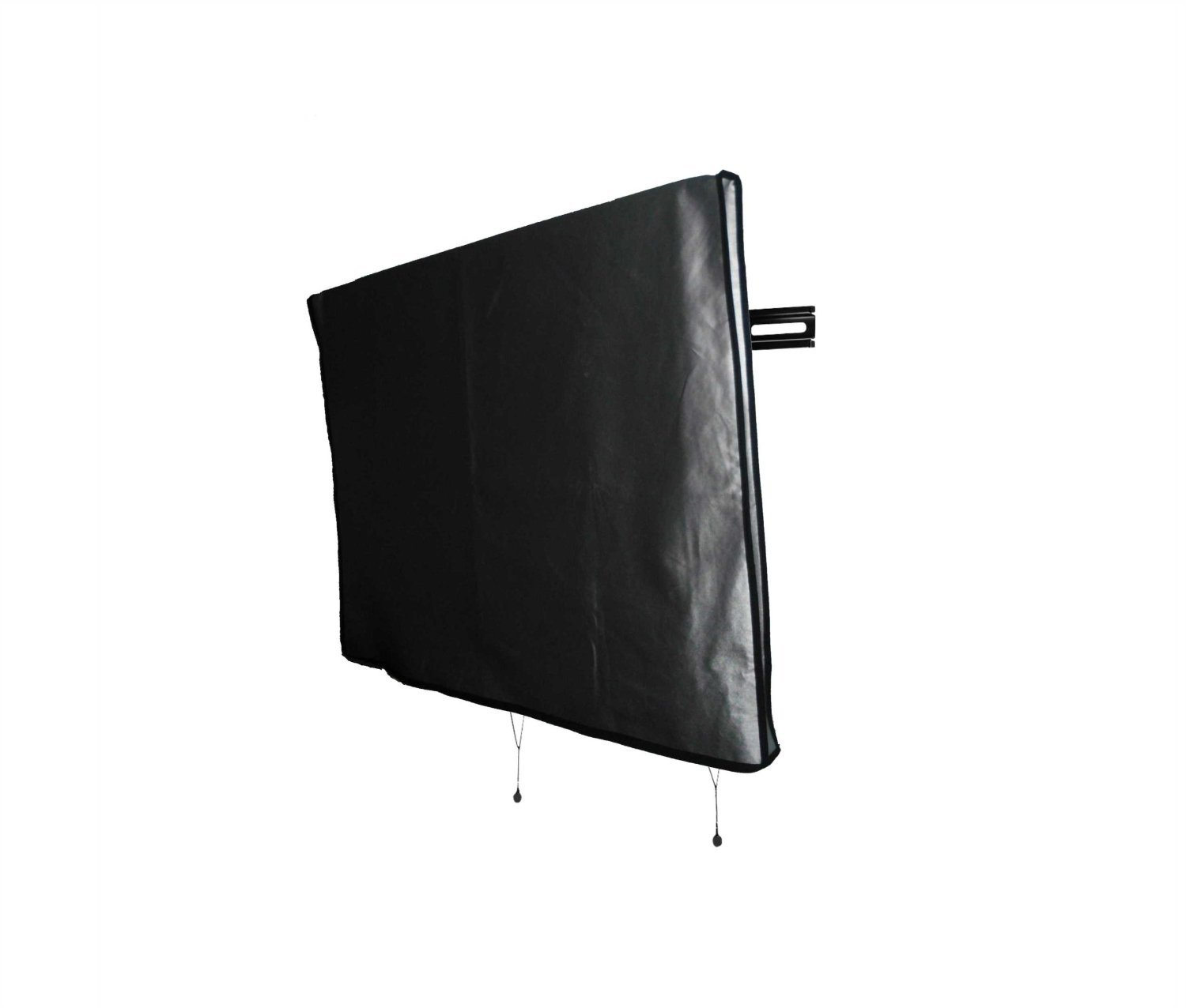 Large Flat Screen TV (65'') Marine Grade Nylon Dust Black Color Cover Ideal for Outdoor Locations Such as Restaurants, Hotels, Marinas or Poolside Locations (65'' Cover - 60'' x 4'' x 35.5'')