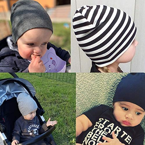 3PCSUnisex Baby Cap Beanie Boy Girl Toddler Infant Children Cotton Soft Cute Hat