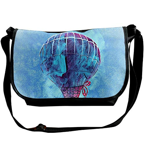 Cross Body Bags Casual Designer Shoulder Blue Unisex Watercolor Fashion Balloon Black Bags Bags axWq1Fw