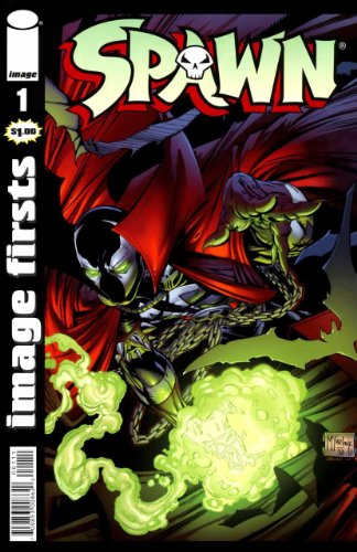 Spawn #1 Image Firsts Edition
