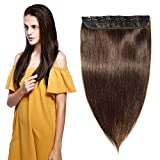 Clip in Remy Human Hair Extensions One Piece 5 clips 100% Remy Human