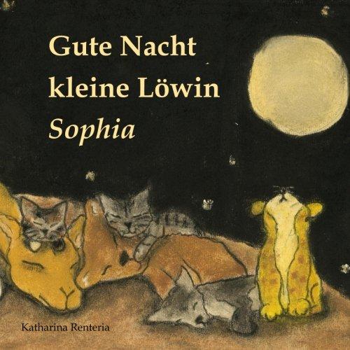 Gute Nacht kleine Löwin Sophia