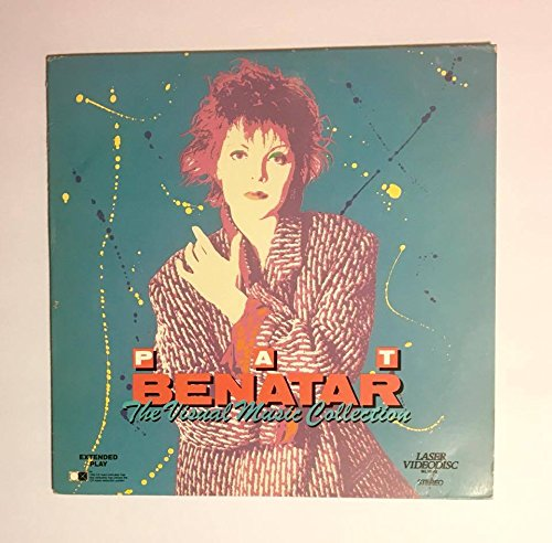 (Rare 1986 Pat Benatar Laser Video Disc The Visual Music Collection : 55 Minutes Vestron Chrysalis Pioneer ML 1073 Richard Belzer Neil Giraldo)