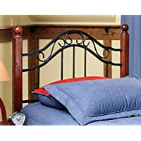 Axente Textured Black Twin Bed Headboard