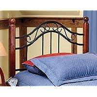 Axente Textured Black Twin Bed Headboard
