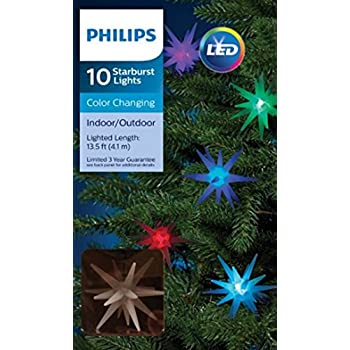 Amazon Com Philips 10ct Multi Led Color Changing