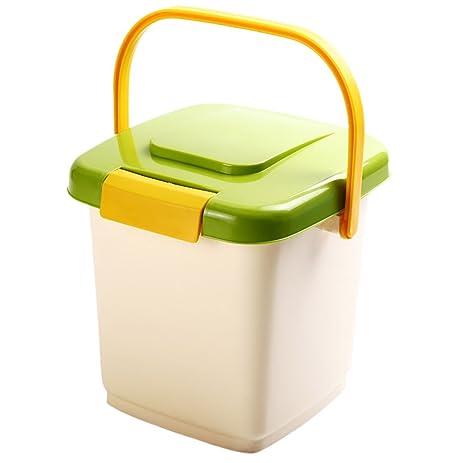 dog food storage container bucket airtight pet cat dog food storage dispenser bins box with portable