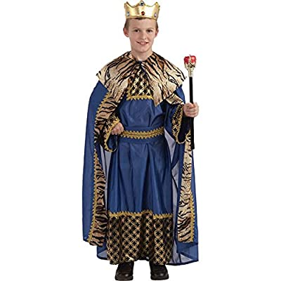 Biblical Times King Of The Kingdom Costume, Child Small