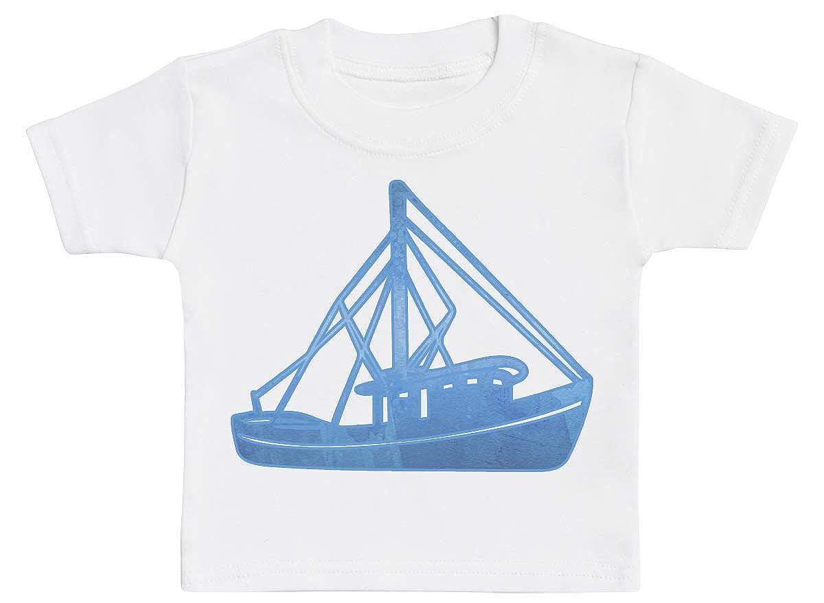 Baby Tshirt Baby Boy T-Shirt Sailing Boat Design Baby T-Shirt Baby Tee Baby Girl T-Shirt
