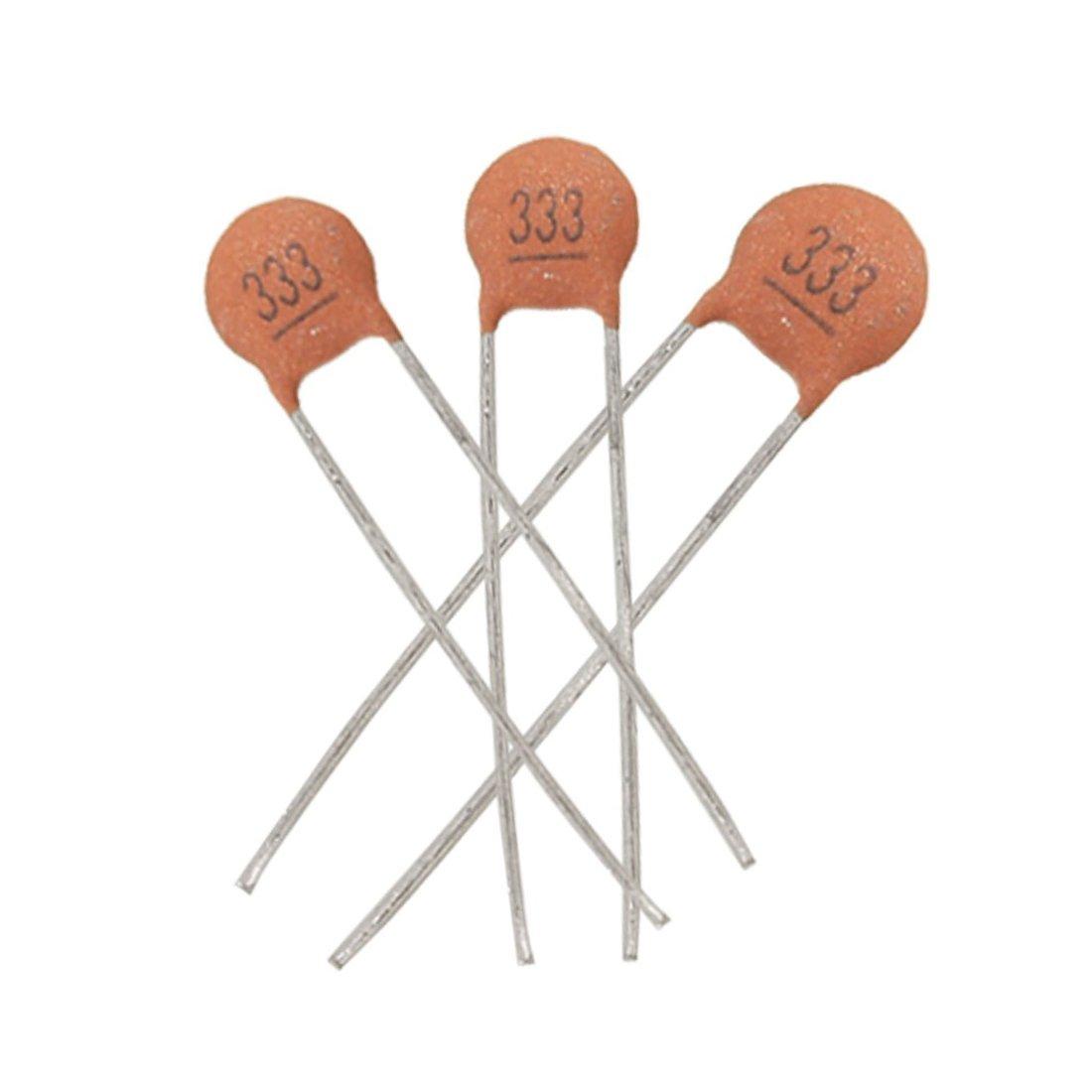 0033uf Capacitor Sodialr 30 X 50v Dip Low Voltage Timer Circuit Ceramic Disc Capacitors Industrial Scientific