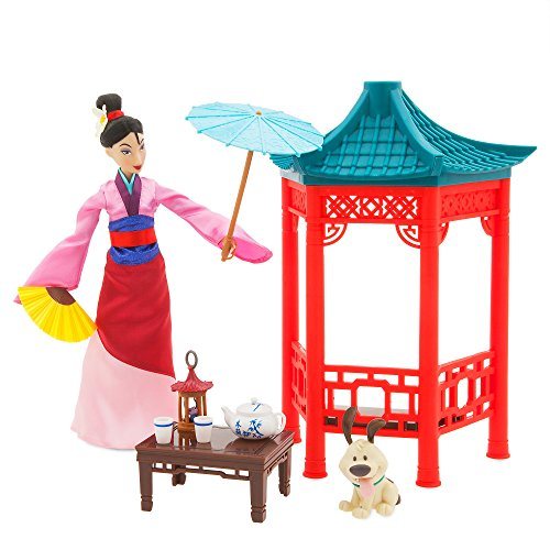 Disney Princess Mulan Tea Ceremony Playset]()