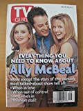 TV Guide Feb. 28-March 6, 1998 Ally McBeal (Vol. 46)