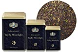 INDIAN SPLENDOR Taj by Moonlight - Exclusively Handpicked, 100% Pure and Natural, Premium Darjeeling Black Tea Leaf (Delicate Muscatel).