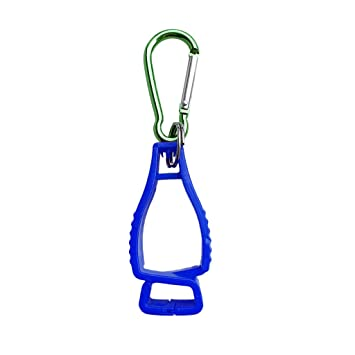 Baoblaze Premium Handschuhhalter Tarp Clip Handschuhclip mit Karabiner Karabinerhaken f/ür Feuerwehrhandschuhe Sport Trainingshandschuhe