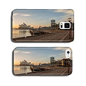 Sunrise at Opera house landmark of Sydney, Australia cell phone cover case Samsung S6