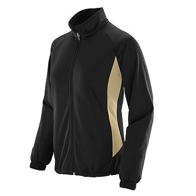 Augusta Sportswear WOMEN'S MEDALIST JACKET M Black/Vegas Gold