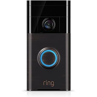 Ring Video Doorbell (1. Gen)   Con notificaciones activadas por movimiento, vídeo HD y comunicación bidireccional