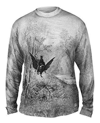 Yizzam- Gustave Dore - Orlando Furioso (1891) -Tshirt- Mens Long Sleeve-Medium