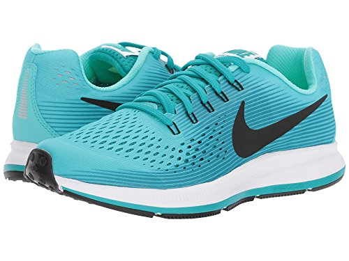 Amazon.com: Nike Girls Zoom Pegasus 34 (GS) Running Shoe, Aurora Green/Black-Turbo Green-Blustery 7Y: Everything Else