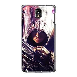 Samsung Galaxy Note 3 AFw16134zWAP Provide Private Custom Realistic Assassins Creed Brotherhood Ezio Skin Shock Absorbent Hard Cell-phone Cases -CristinaKlengenberg