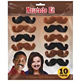 Best Amscan Birthday Gifts For 7 Year Old Boys - High Riding Western Party Western Mustaches Accessory, Fabric Review