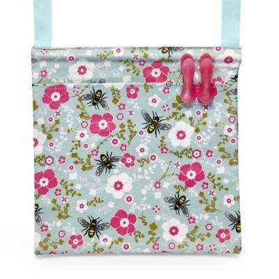 Diseño de Luca Johnson UK Bee bolsa para pinzas de algodón para toallitas húmedas-clean