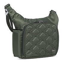 Lug Sidecar Cross Body and Waist Pack Messenger Bag, Olive Green