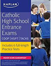 Catholic High School Entrance Exams: COOP * HSPT * TACHS