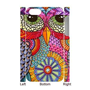 LIULAOSHI Aztec Tribal Owl Phone Case for iphone4 3D [Pattern-4] by Maris's Diary