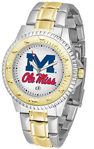 Competitor Watch Rebels - Mississippi Rebels Competitor Two-Tone Men's Watch