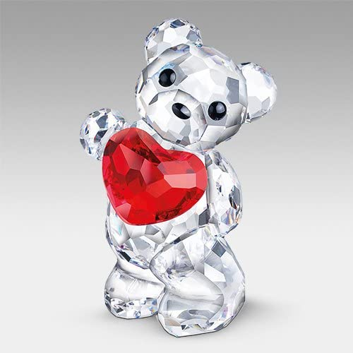 SWAROVSKI Crystal Figurines 958449 2009 A Heart for You Kris Bear
