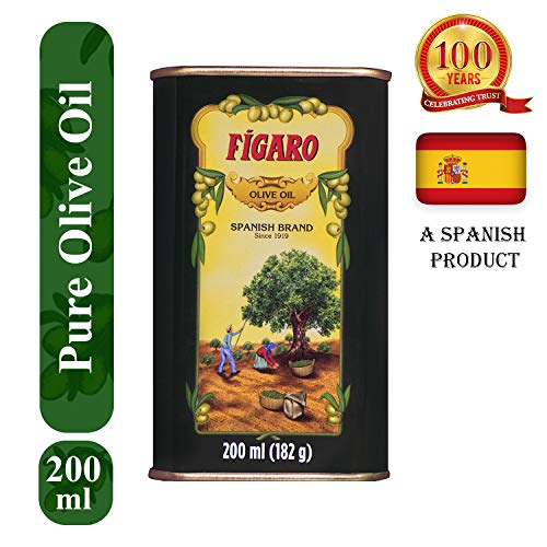 Figaro Olive Oil Best for Skin Massage & Hair Care ()