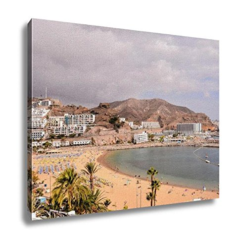 Ashley Canvas, Landscape In Tropical Volcanic Canary Islands Spain, Home Decoration Office, Ready to Hang, 20x25, AG6454126 by Ashley Canvas